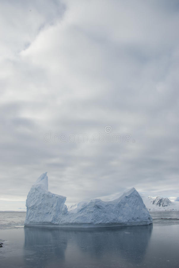 Download Icebergs Against The Overcast Sky. Stock Photo - Image: 22867746