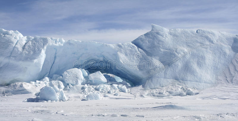 Download Icebergs on Antarctica stock image. Image of landscape - 11260413