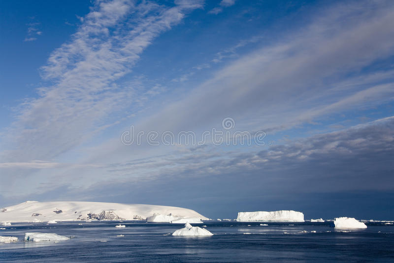 Icebergs De La Antártida - Del Mar De Weddell Imagenes de archivo