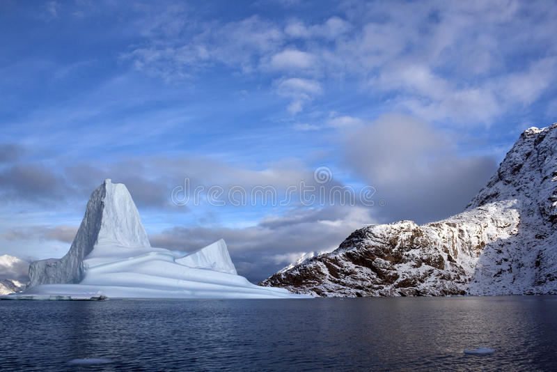 Icebergs - Greenland royalty free stock image
