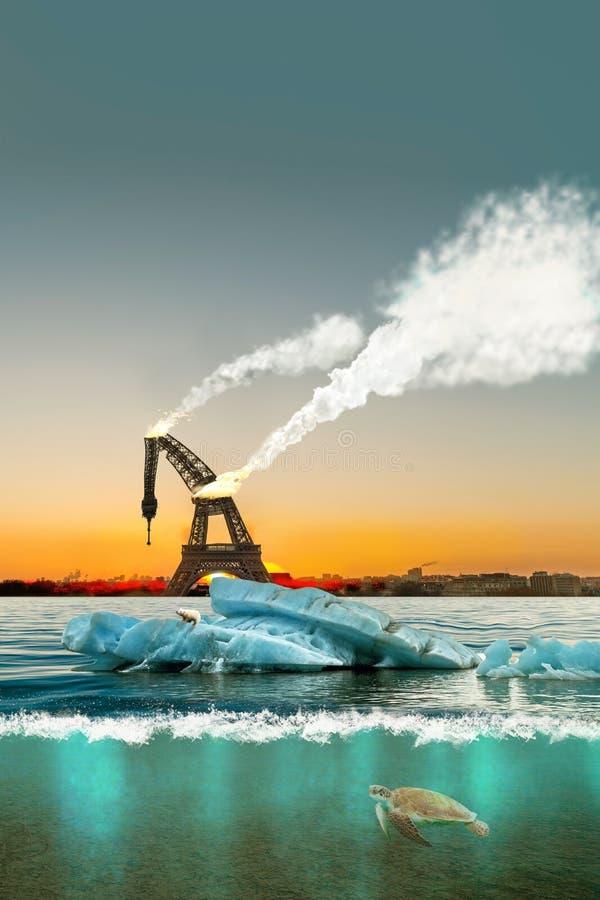 Free Icebergs In Paris Stock Images - 93180094