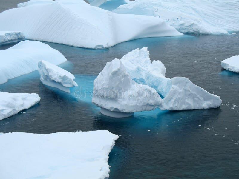 Icebergue de gelo imagem de stock royalty free