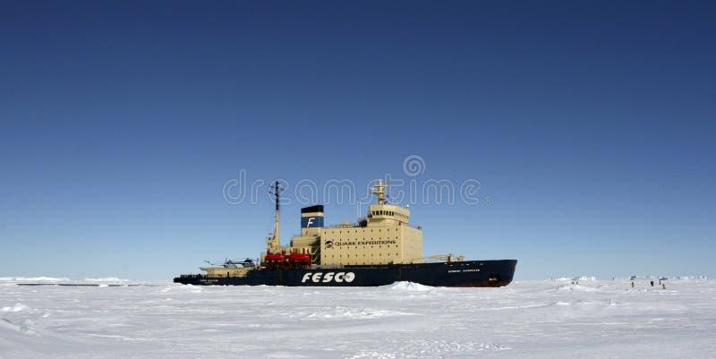 icebreaker Антарктики стоковое фото