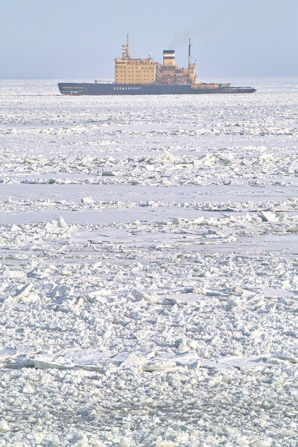 icebreaker foto de archivo