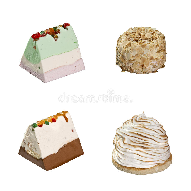 Download Icecream 4 Slices Stock Images - Image: 34029494