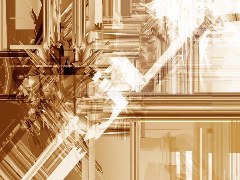 Icecrush abstracto imagen de archivo libre de regalías