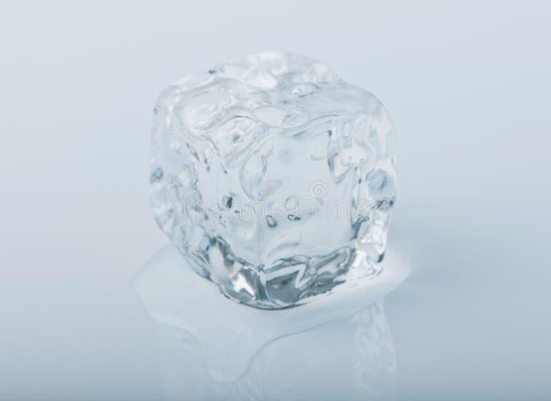 Icecube close-up stock image