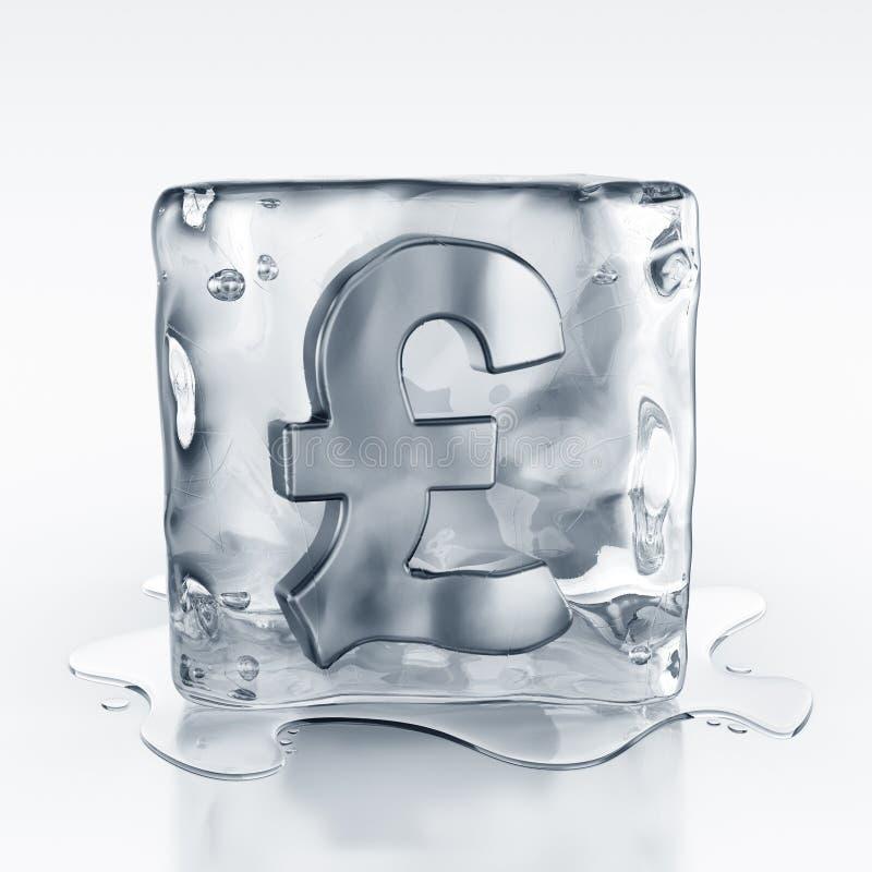 Download Icecube With Pound Symbol Inside Stock Illustration - Illustration: 10751834