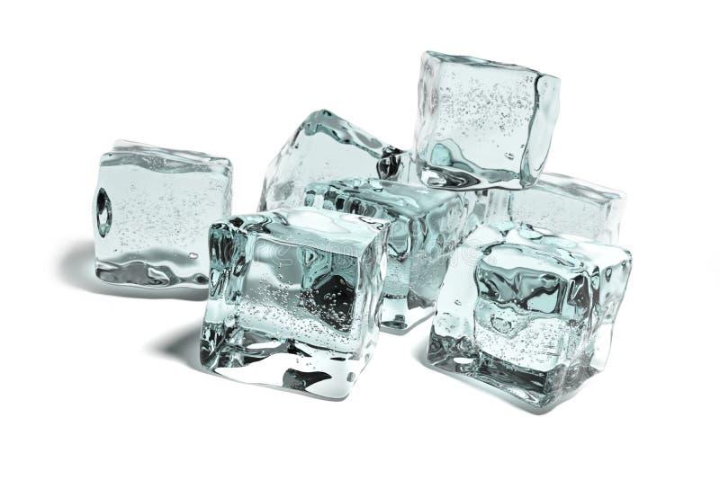 Icecubes Royalty Free Stock Photos
