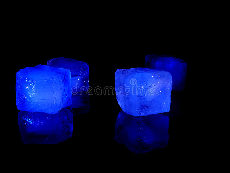 Icecubes fotografia stock libera da diritti