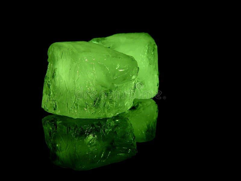 Icecubes royalty-vrije stock afbeeldingen