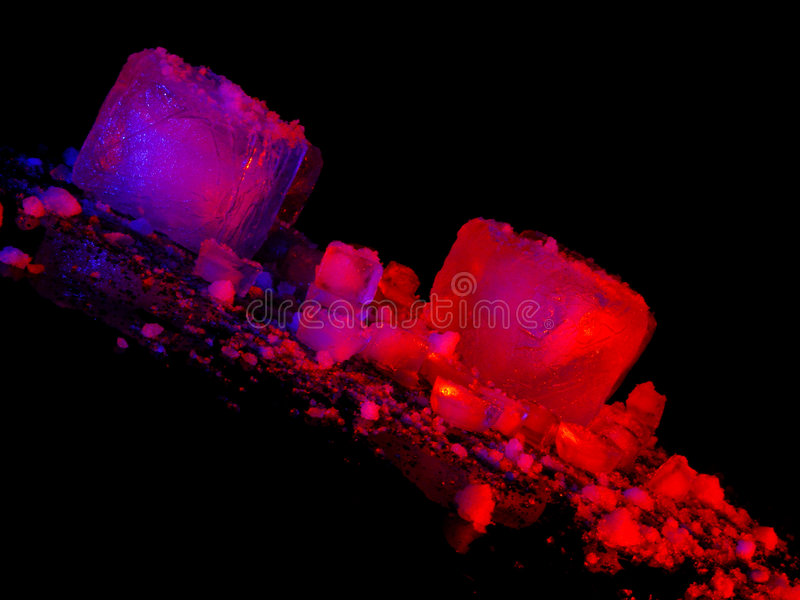 Icecubes foto de stock royalty free