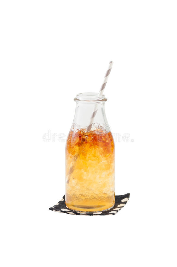 Free Iced Caremel Tea Royalty Free Stock Photos - 58901188