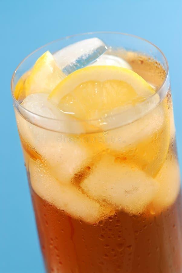 iced citrontea royaltyfri fotografi