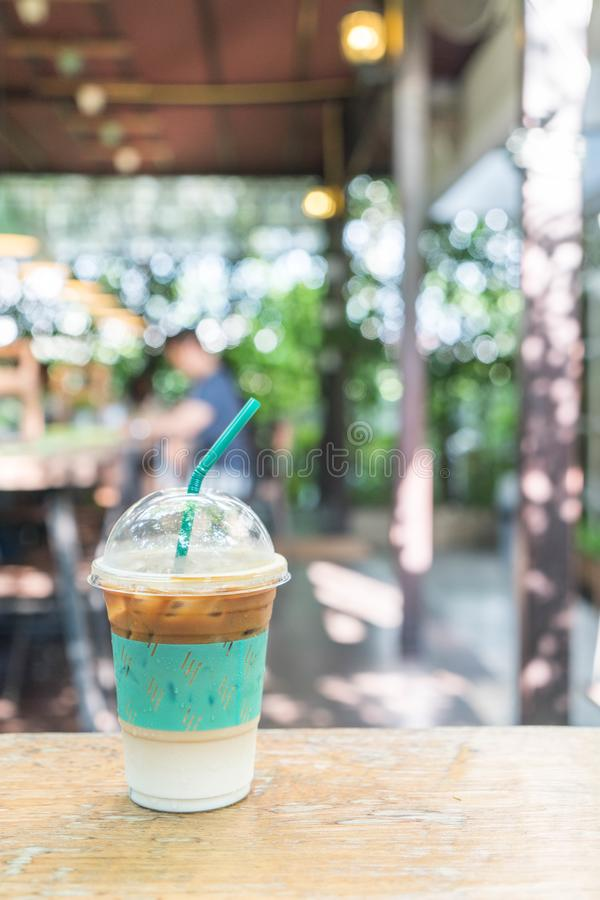 iced expresso coffee royalty free stock images
