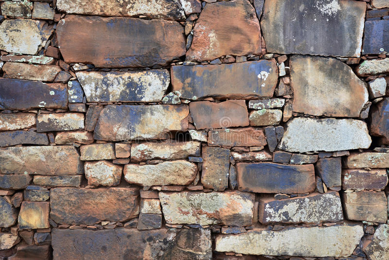 Stone wall background texture stock images