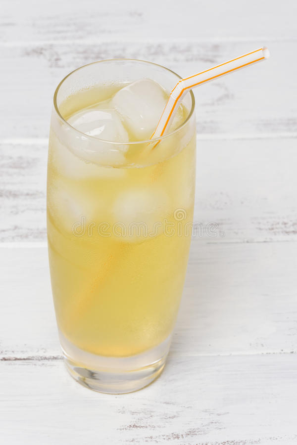 Iced Green Tea stock image