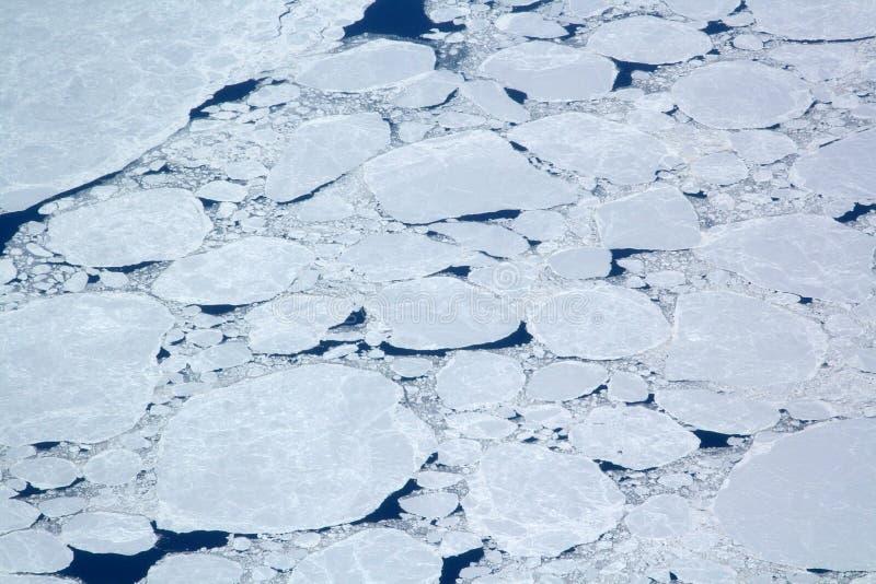 iced hav arkivfoto