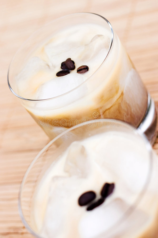 Download Iced lattes, very hip! stock image. Image of iced, latte - 886381
