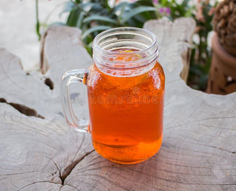 Iced lemon tea royalty free stock images