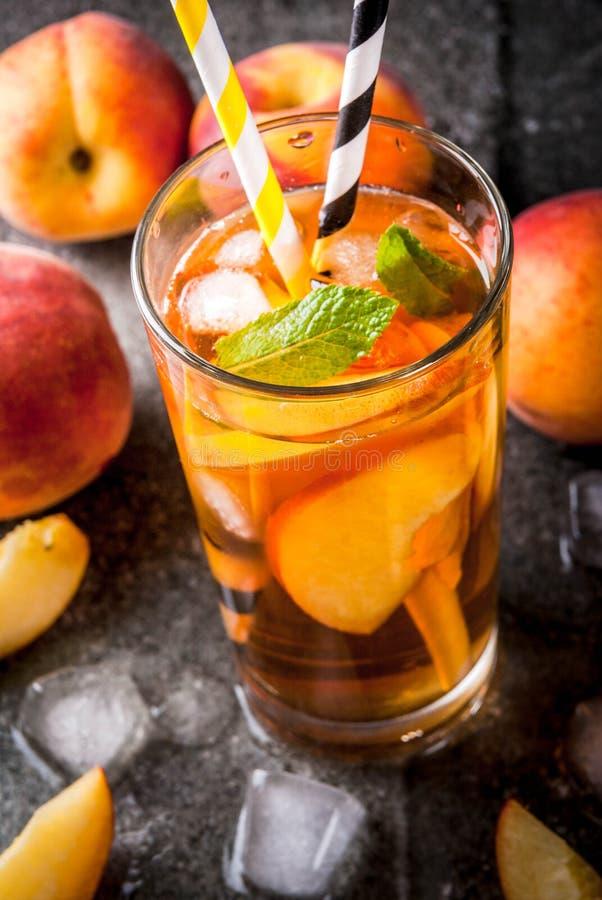 iced peach tea stock photo image of beverage fruit 94473676