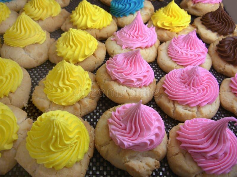 Iced Sugar Cookies stock photos