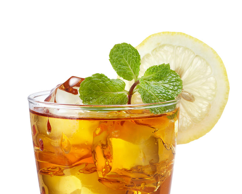 Download Iced tea stock photo. Image of cube, glass, water, white - 21821230