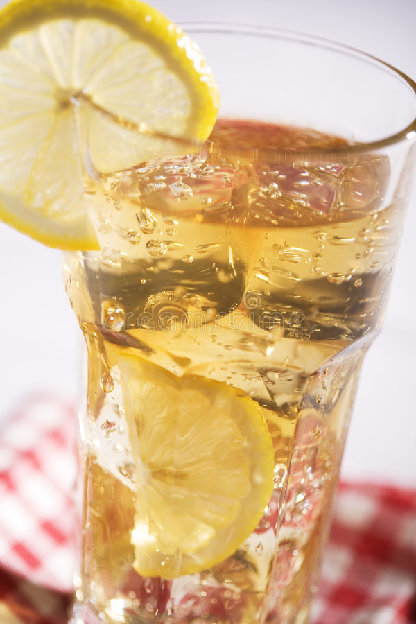 Download Iced Tea stock photo. Image of garnish, lunch, summertime - 5288928