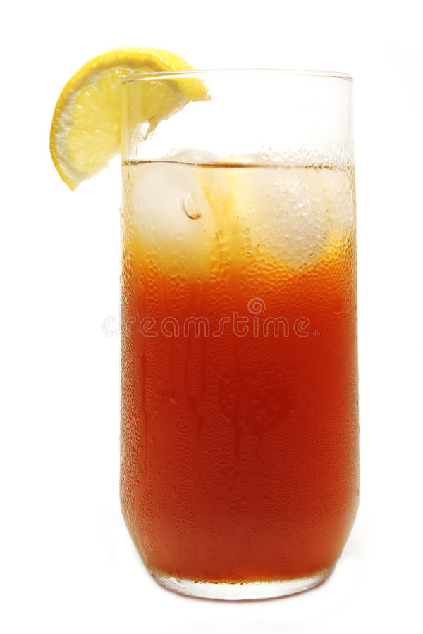 Download Iced Tea stock image. Image of glass, wedge, beverage - 5597169