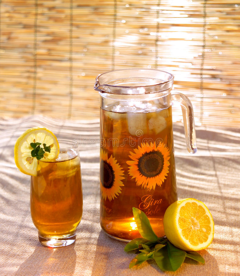 Iced-tea royalty free stock photo
