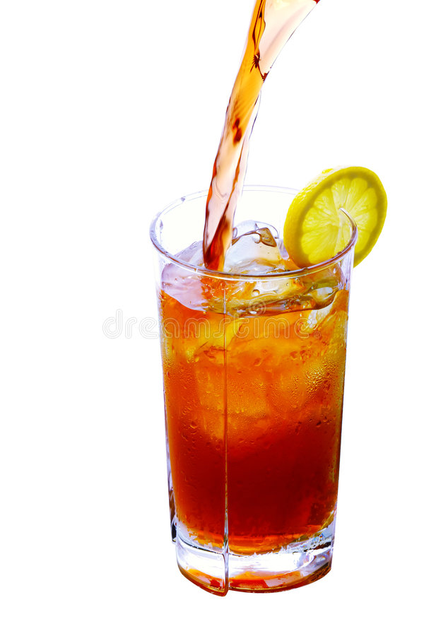 Download Iced Tea Pouring stock image. Image of glass, refreshing - 5310637
