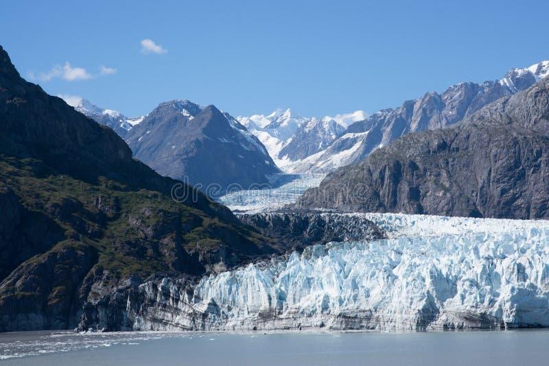 Icefield在阿拉斯加,美国 免版税库存图片