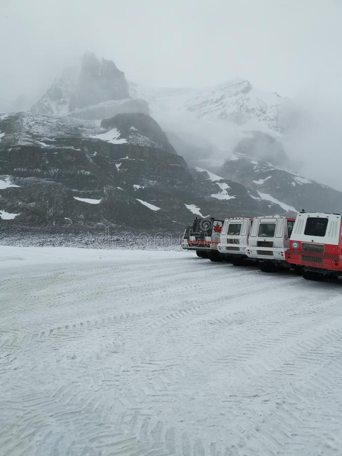Icefield 图库摄影