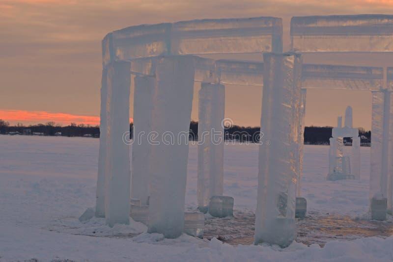 Icehenge 库存图片