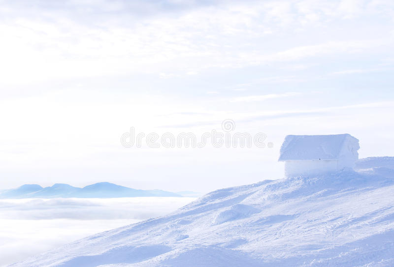 Download Icehouse above the Clouds stock image. Image of mountains - 37786687