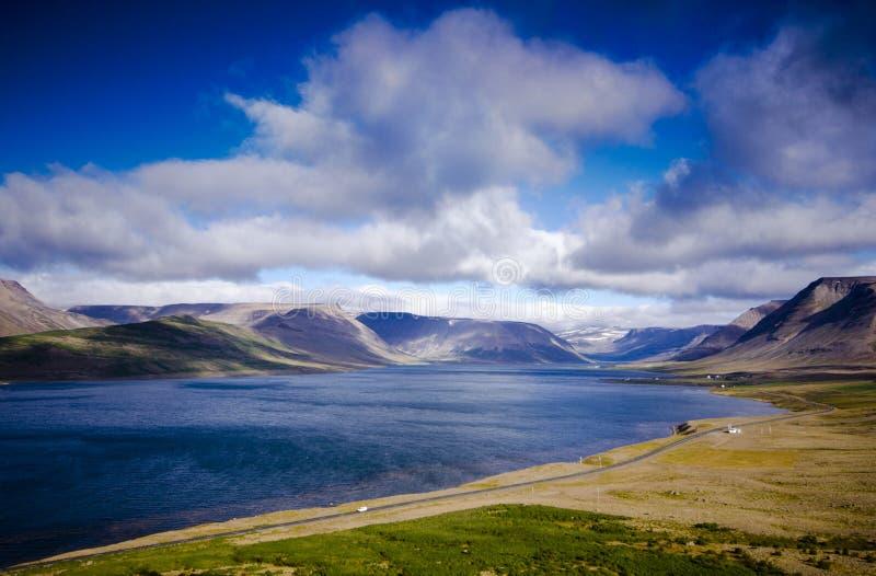 Iceland湖风景 库存照片