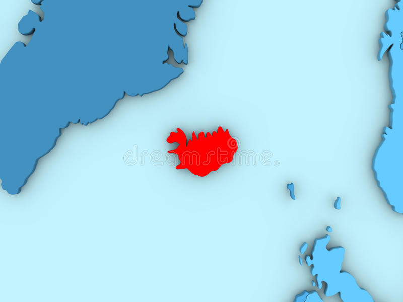 Iceland on 3d map stock illustration illustration of country 86430720 download iceland on 3d map stock illustration illustration of country 86430720 gumiabroncs Choice Image