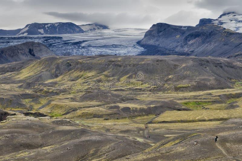 Iceland dziki krajobraz zdjęcie stock
