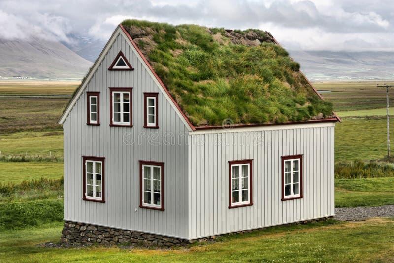 Iceland house stock photo