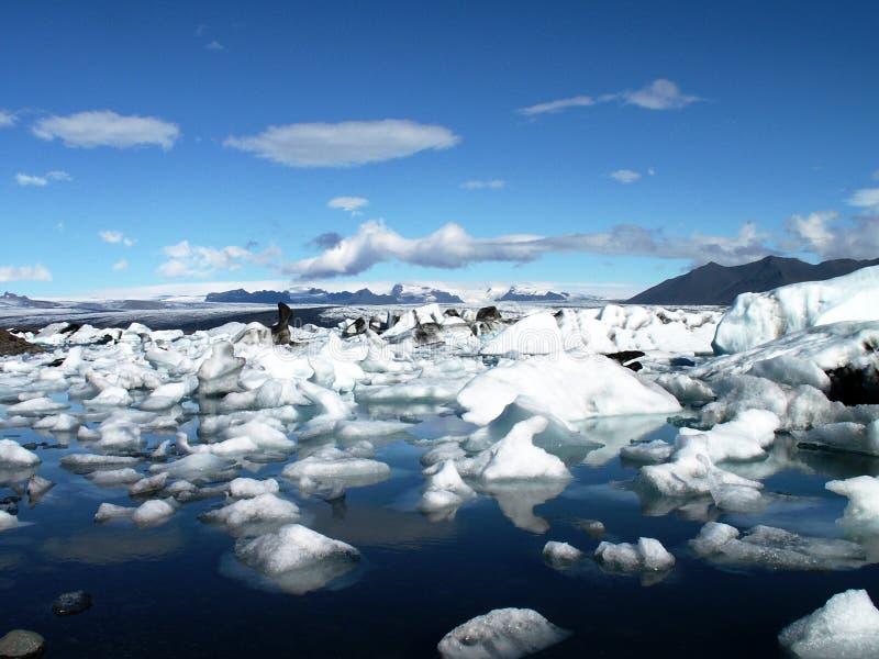 iceland jokulsarlon royaltyfri bild