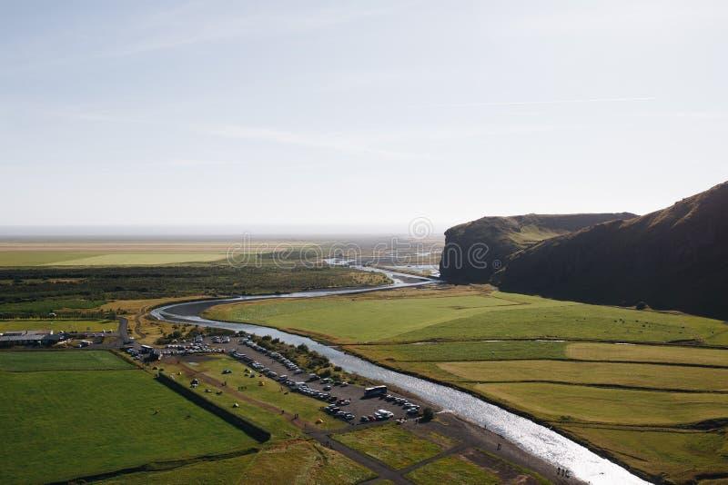 Iceland krajobraz obraz stock