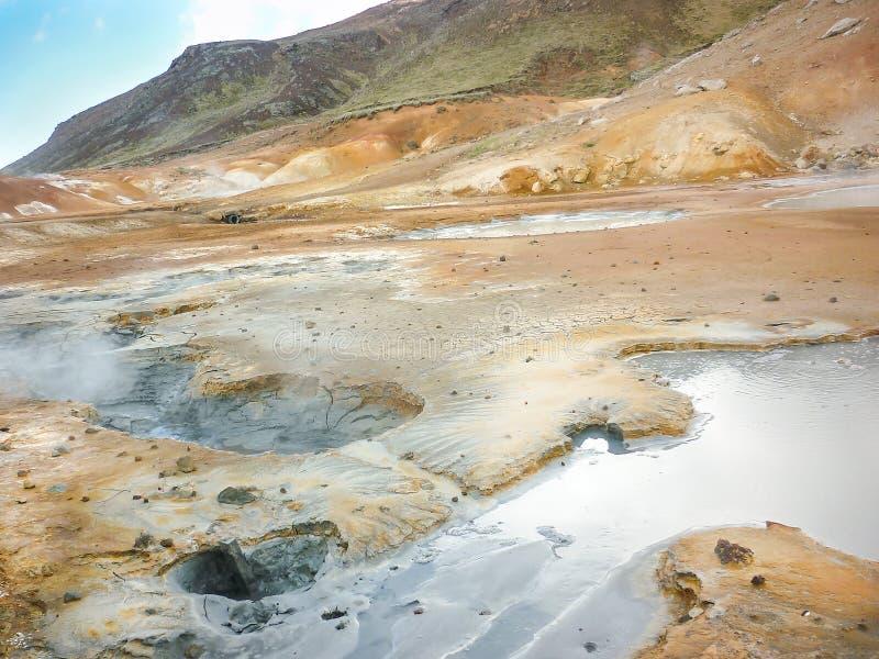 Iceland krajobraz obrazy stock