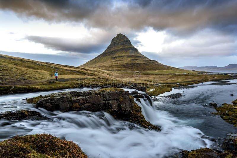 Iceland krajobraz fotografia royalty free