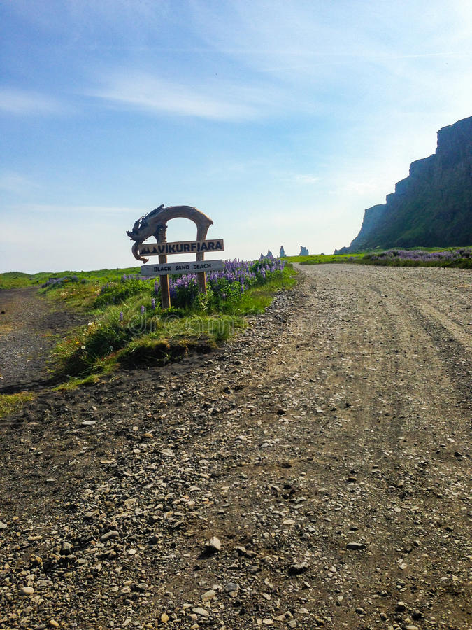 Iceland. Landscapes royalty free stock photos