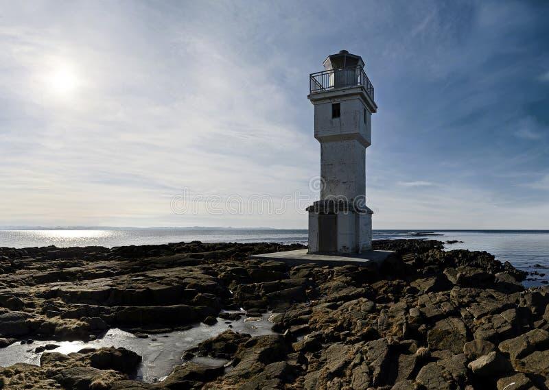 Iceland latarnia morska fotografia stock