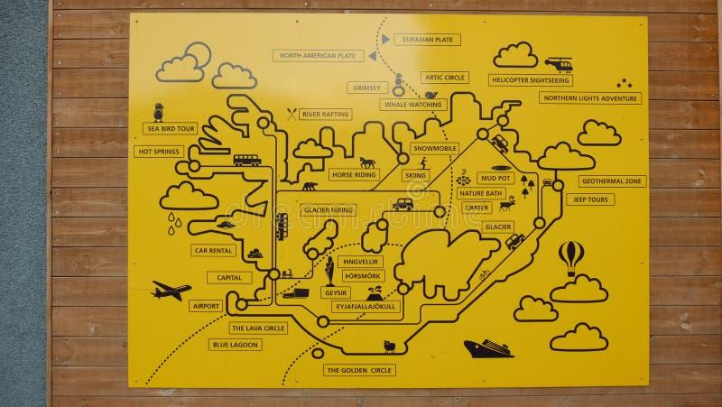 Iceland map with landmarks stock photo image of drawing 106323810 download iceland map with landmarks stock photo image of drawing 106323810 sciox Gallery