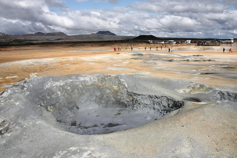 Download Iceland - mud pool stock image. Image of scenic, formation - 24188663
