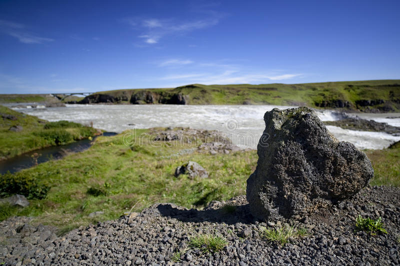 Iceland nature and landscapes royalty free stock photos