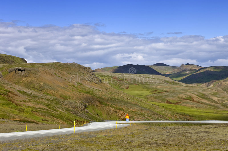 Iceland Ring Road Stock Images