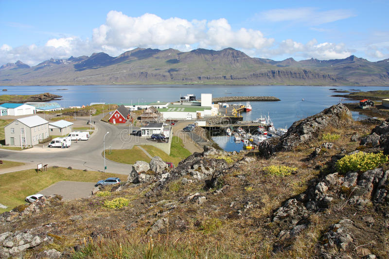 Iceland town royalty free stock image